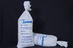 12 kg bag of standard packaged ice