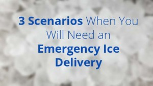 3 Scenarios When You Will Need an Emergency Ice Delivery