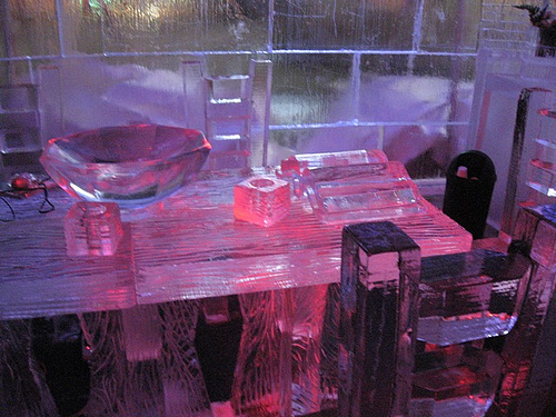 Ice Kitchen Table