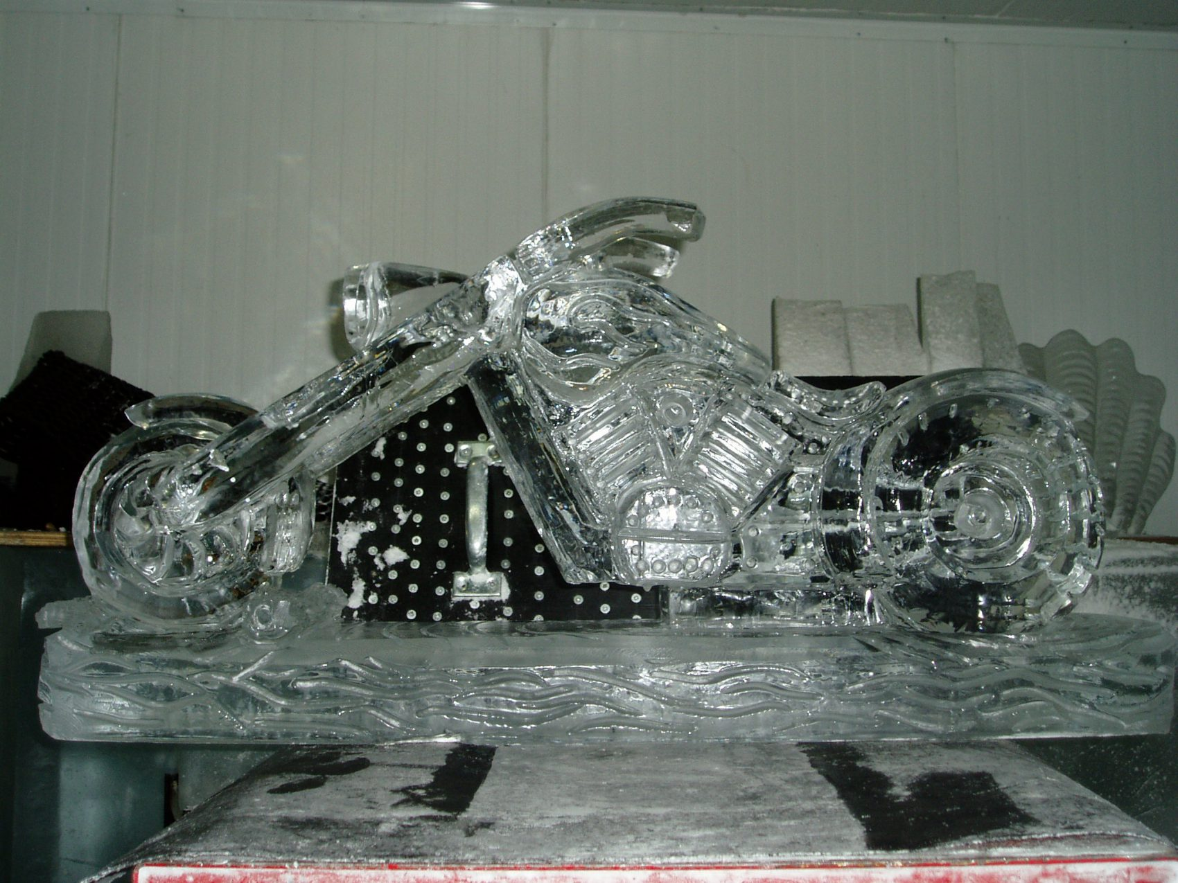 Motorcycle carving