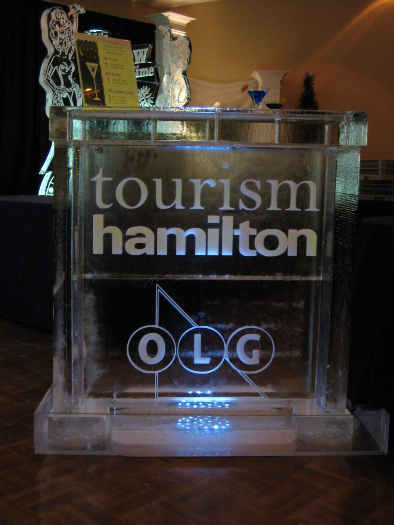 Tourism Hamilton OLG Ice Bar