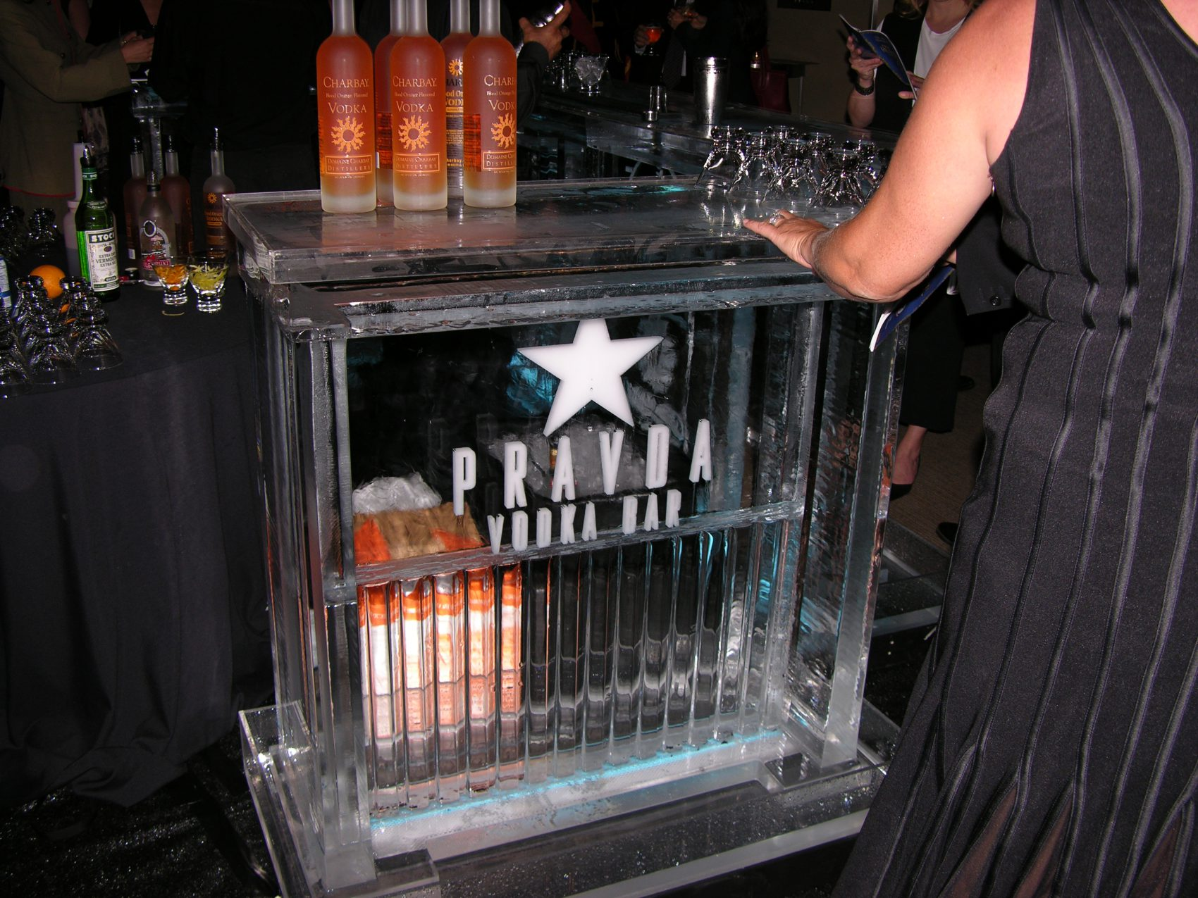 Pravda Vodka Ice Bar