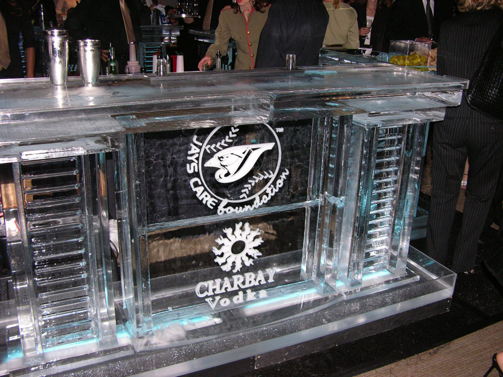 Charbay Vodka ice bar