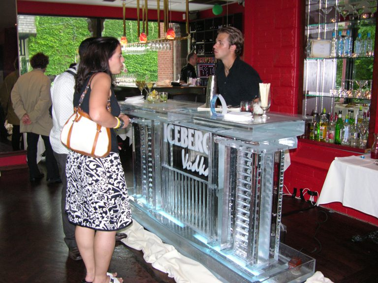 Iceberg Vodka Ice Bar