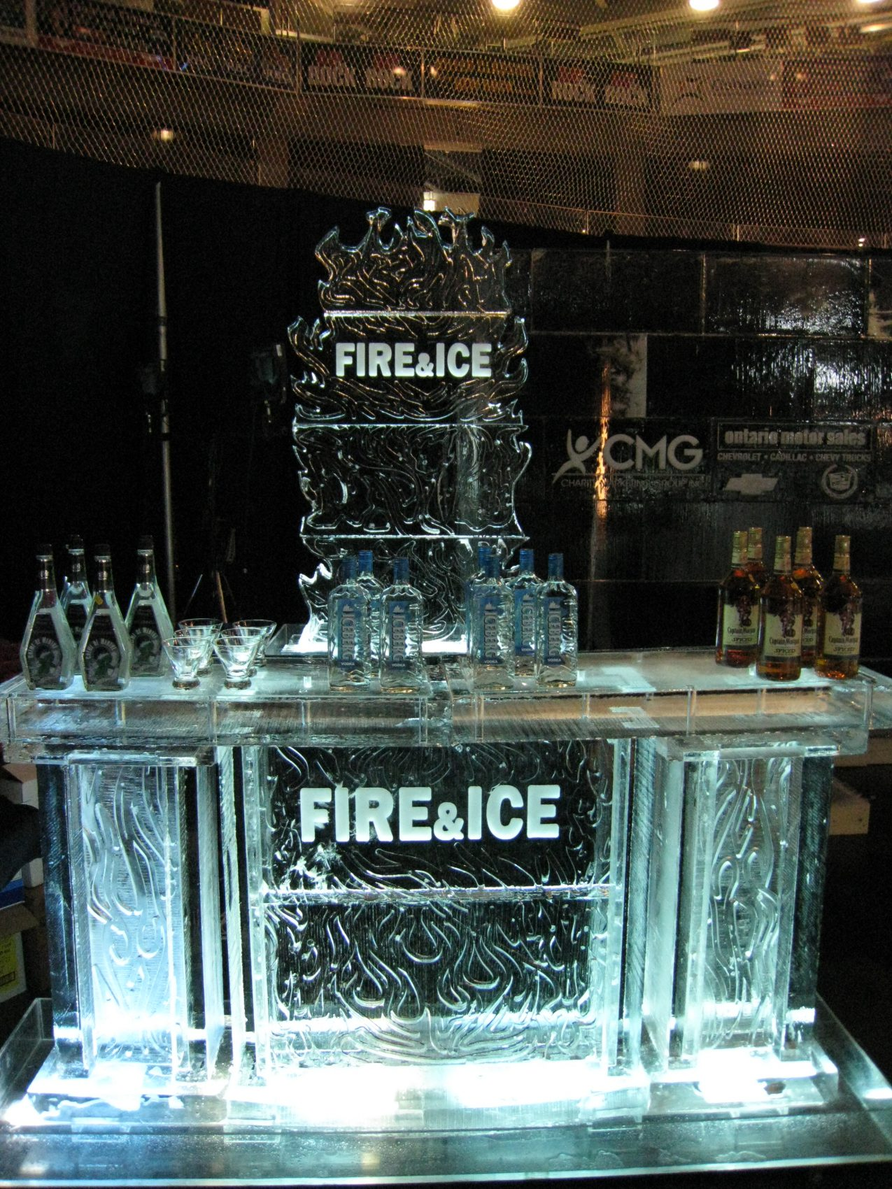 Fire & Ice Ice Bar