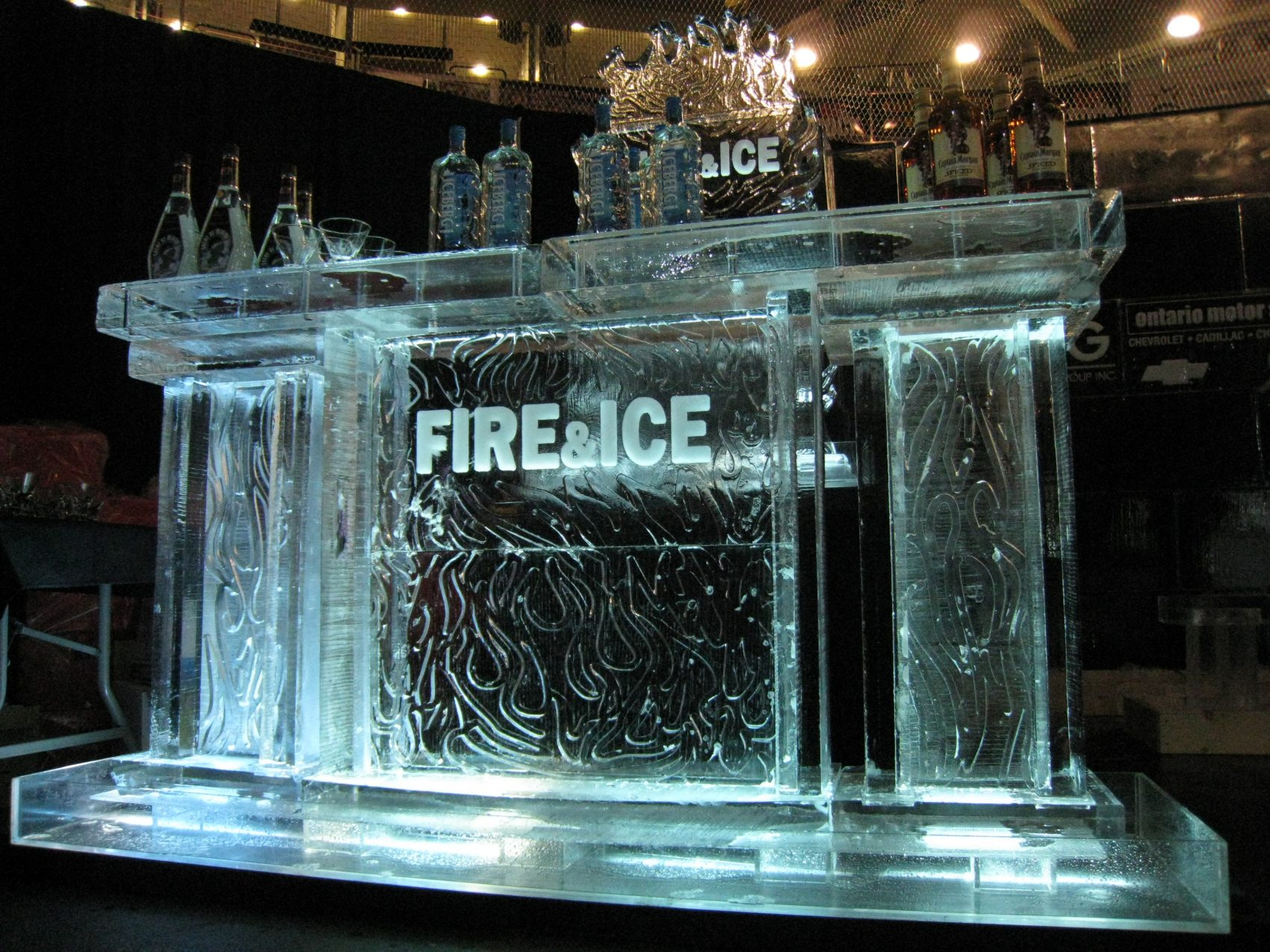 Fire and Ice Ice Bar side angle