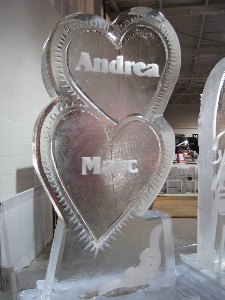 Andrea and Marc Wedding Sculpture