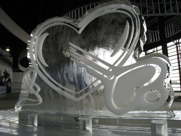 Heart Wedding Sculpture