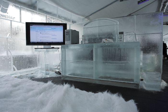 MS Office ice bedroom