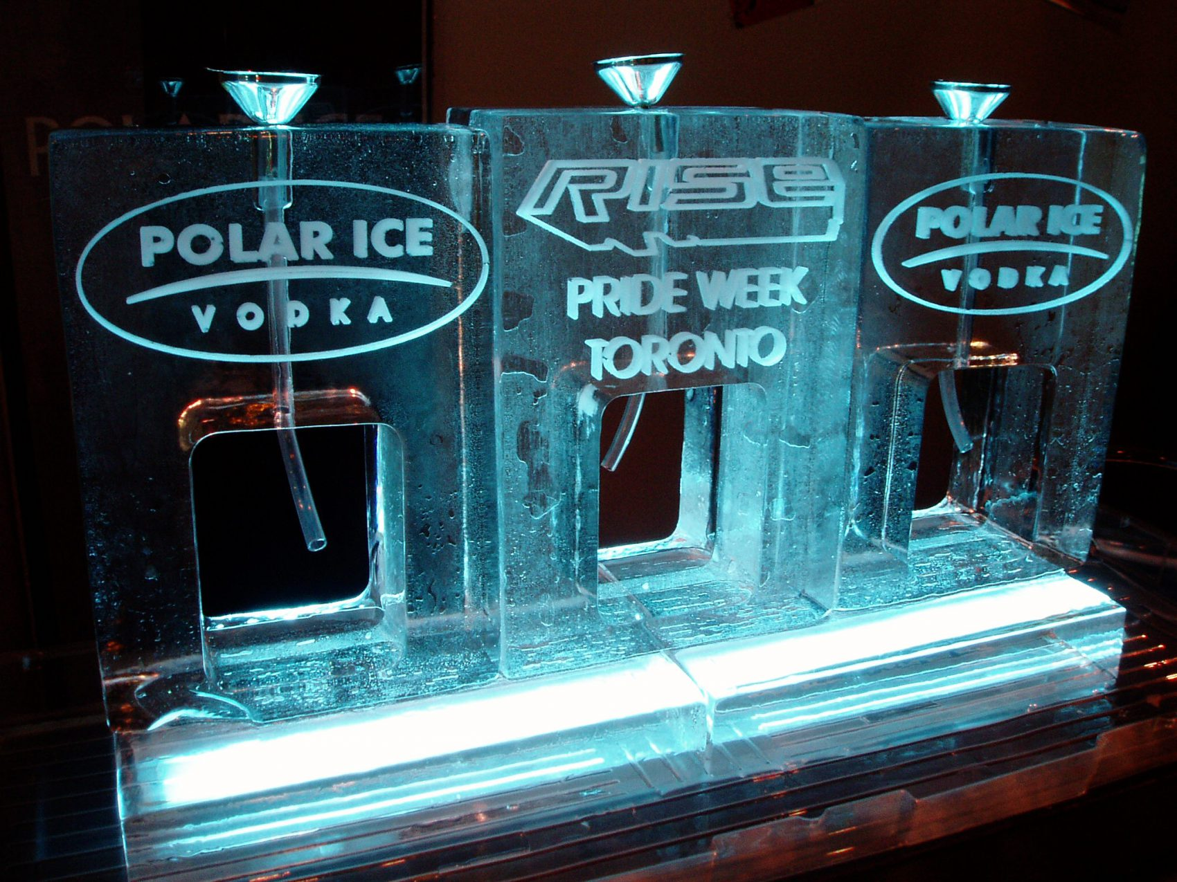 Polar Ice Vodka Ice Luge