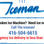 Emergency Ice Machine Service Call Card