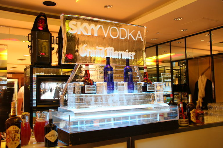 Skyy Vodka Ice Presentation
